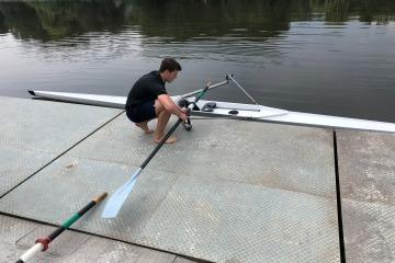 Zuwachs im Bootshaus